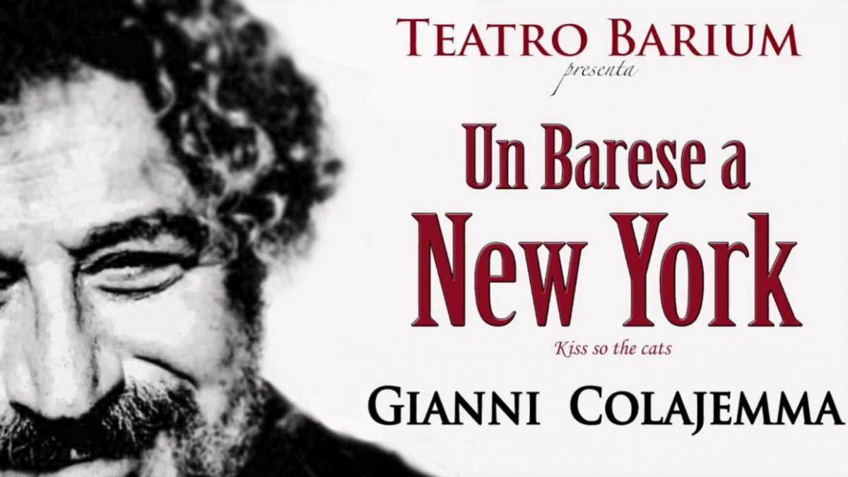 Bari al teatro barium un barese a new york il 31 marzo for Arredamento etnico bari