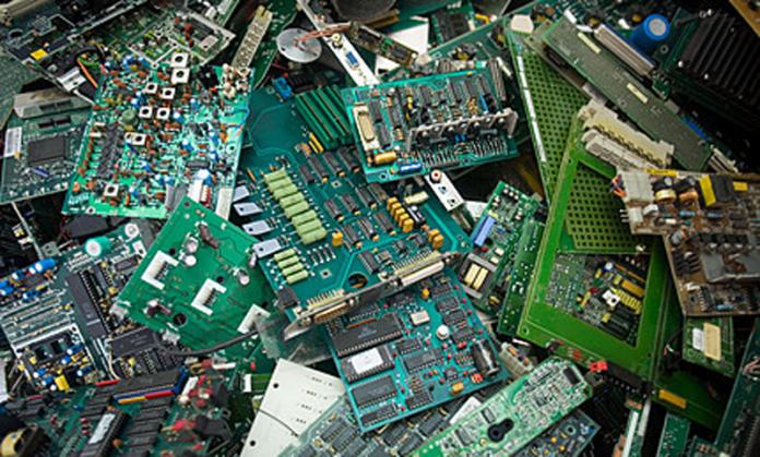 riciclo rifiuti elettrici