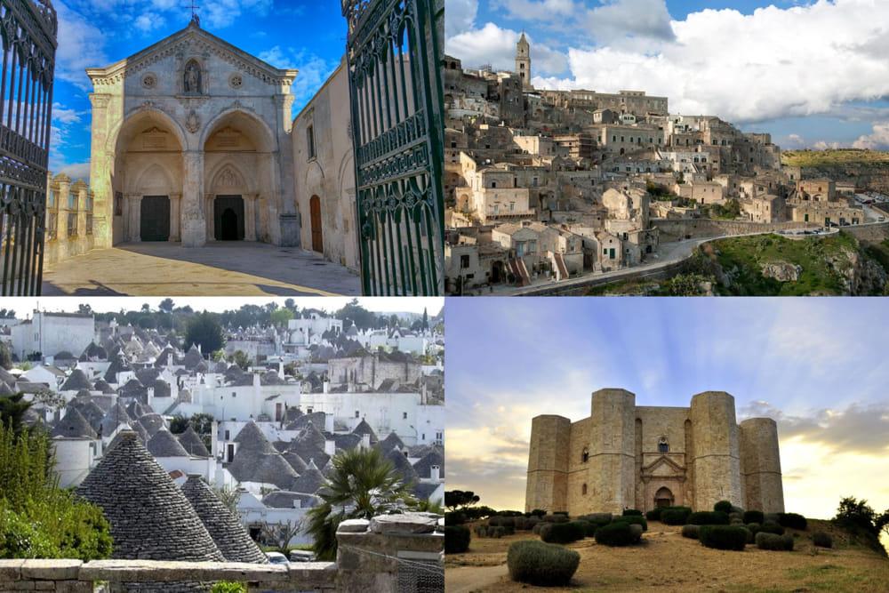 rete dei siti Unesco di Puglia