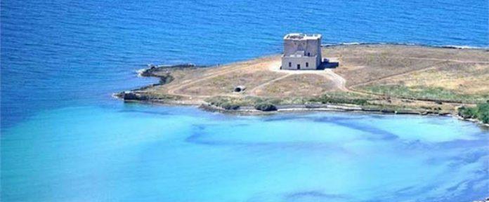 spiagge con conchiglie in Puglia