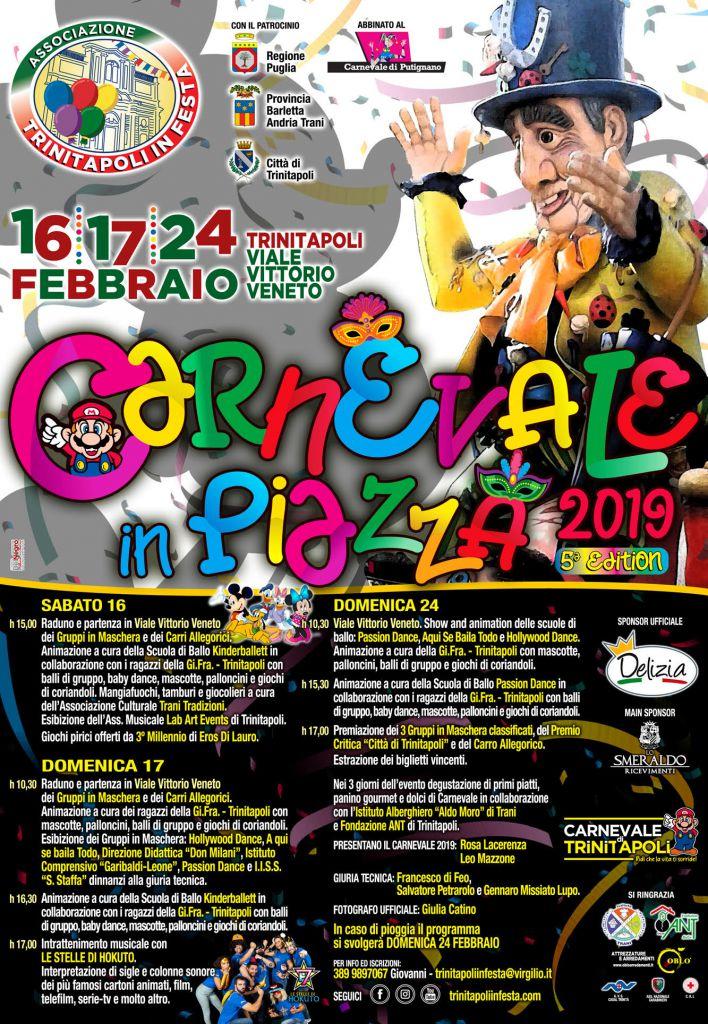 Carnevale di Trinitapoli 2019
