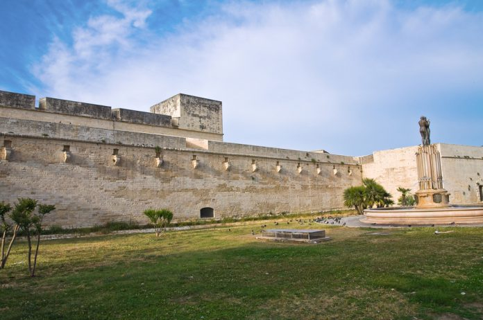 Castle of Charles V. Lecce.