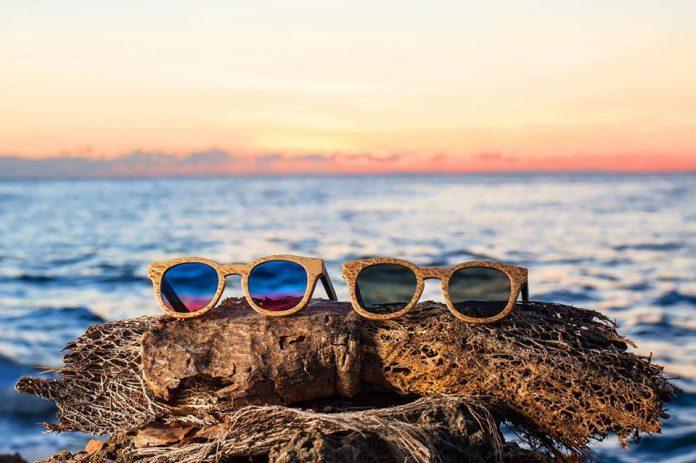 Occhiali green Ferilli Eyewear realizzati con materie prime del Salento