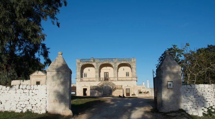 Tipical fortified Masseria in the Cisternino.