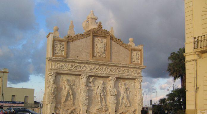 Fontana greco romana Gallipoli