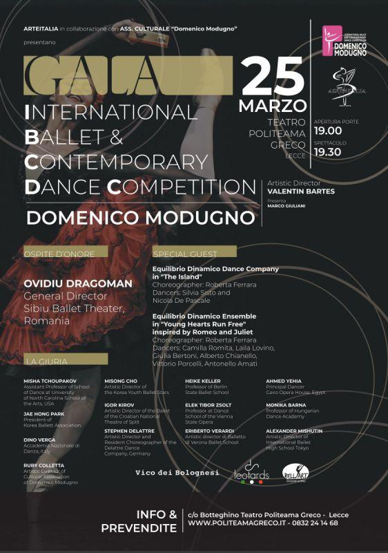 GALA'- Concorso Internazionale danza classica e contemporanea