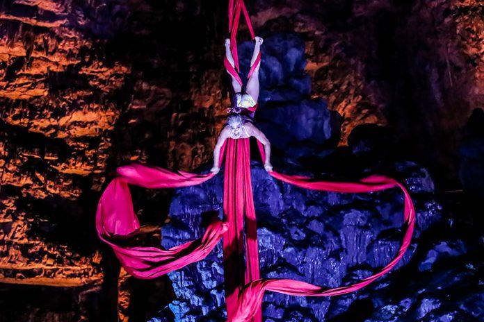 Alle Grotte di Castellana va in scena Hell in the Cave