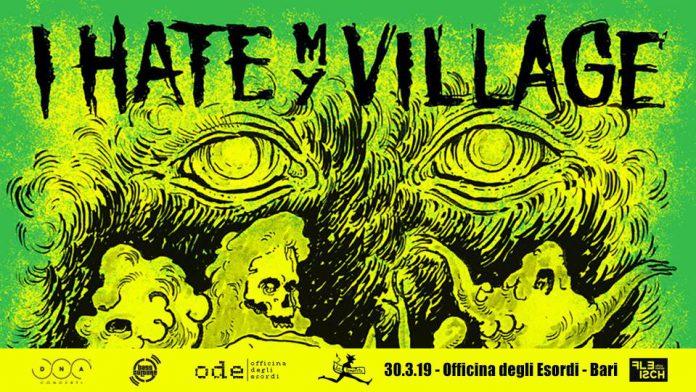 Arriva a Bari la band I Hate My Village