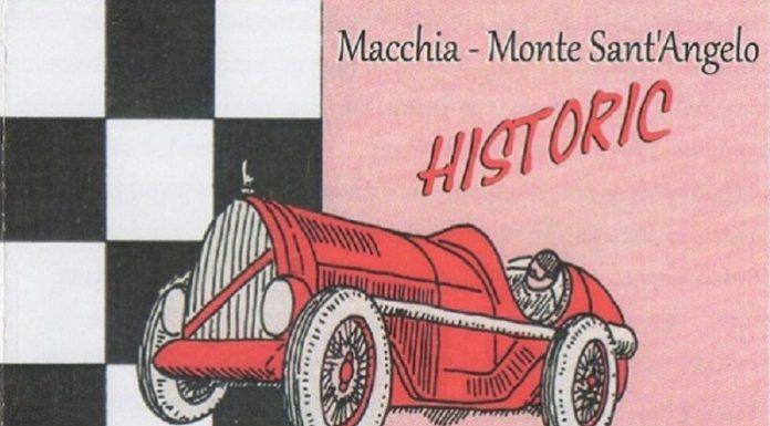 Sfilata d'auto d'epoca Macchia-Monte Sant'Angelo Historic a Monte Sant'Angelo