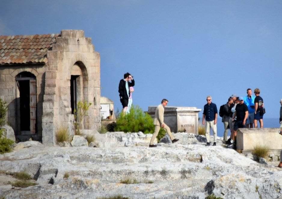 Daniel Craig a Gravina in Puglia