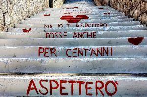 scalinata di Vieste