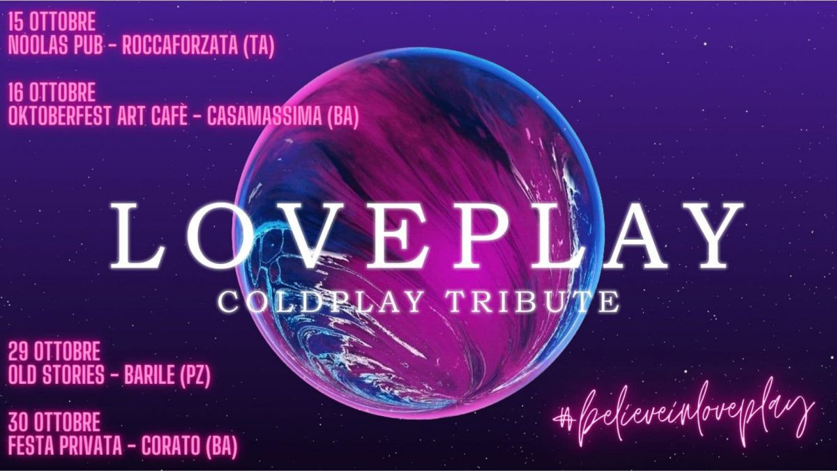 loveplay coldplay tribute